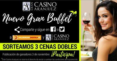 Ganadores del espectacular Sorteo Gran Casino de Aranjuez