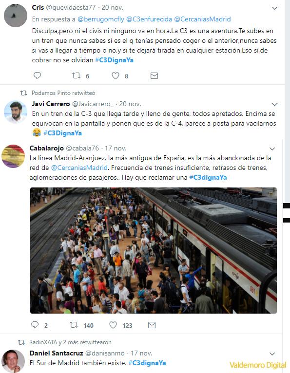 C3DignaYa en Afectados C3 en Twitter