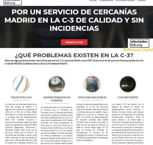 Web Afectados C3