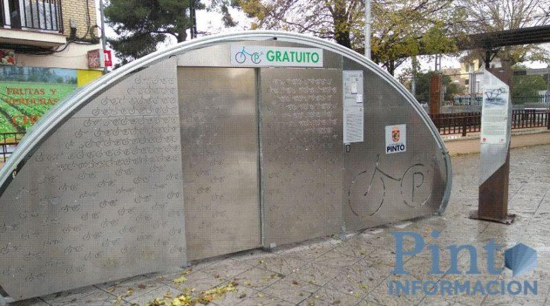 Estacionamientos para bicis Pinto