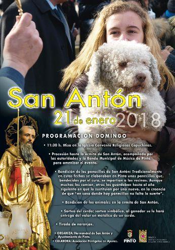 San Antón en Pinto 2018