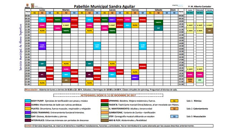 Abono Municipal Deportivo de Pinto