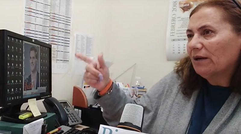 Entrevista a Juana Valenciano, portavoz de Cs Pinto