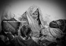 Pinto con las refugiadas por una #menstruacion digna