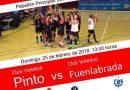 El Club de Voleibol de Pinto se enfrenta al partido más importante de su historia