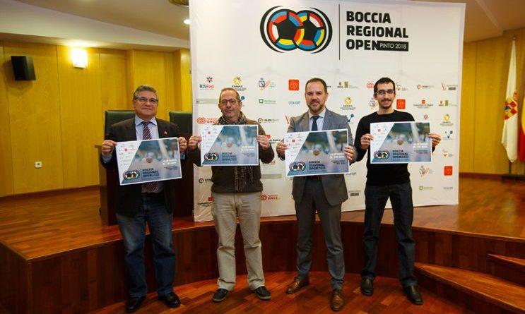 Campeonato de Europa de Boccia en Pinto