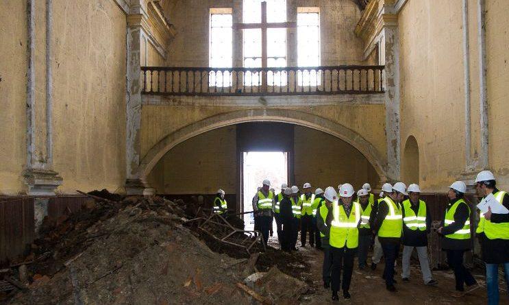 Iniciadas las obras en la Iglesia y el Convento de la Sagrada Familia de Pinto