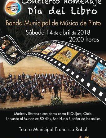 La Banda Municipal de Pinto rinde homenaje al Día Internacional del Libro