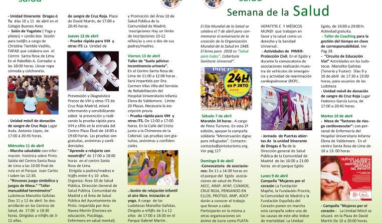 Salud 2018 Pinto