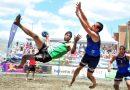 Campeones de la Copa del Rey de Balonmano Playa con el BM
