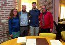 Firman convenios con los clubes de balonmano y voleibol de Pinto