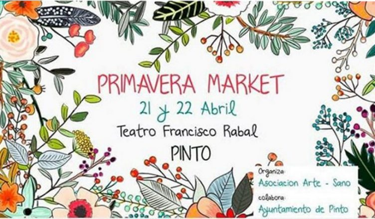Mercado de artesanías en Pinto
