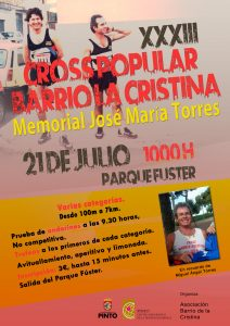 XXXIII Cross Popular del Barrio de la Cristina
