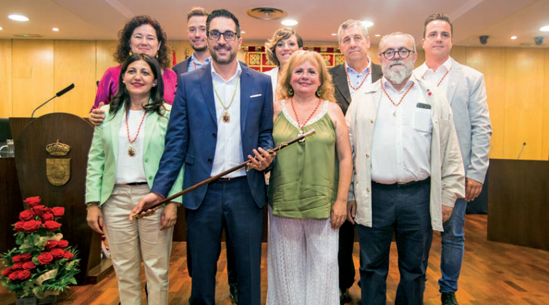 Alcalde de Pinto ha configurado su ejecutivo