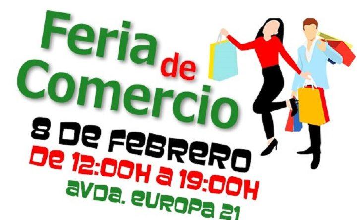 Feria de comercio local en Pinto