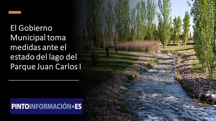 Medidas por el lago del Juan Carlos I