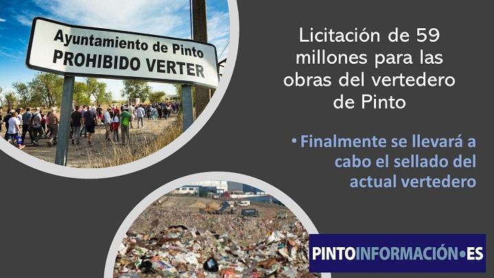 57 millones para obras vertedero de Pinto
