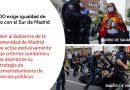 Igualdad de trato con el Sur de Madrid