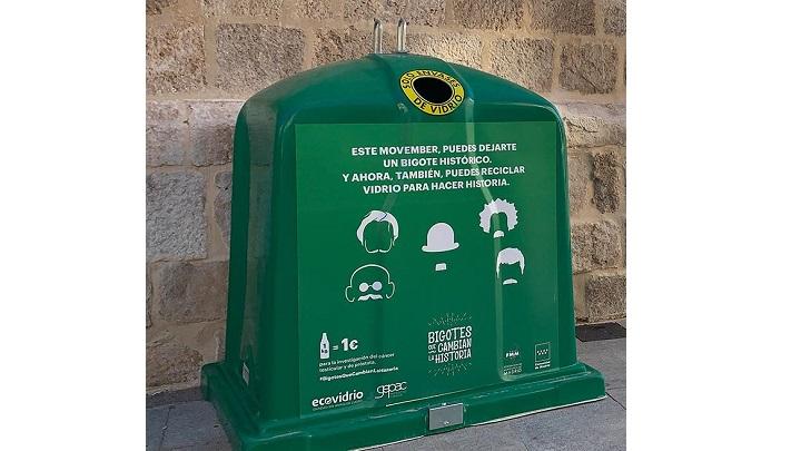 Campaña de reciclaje para investigación del cáncer