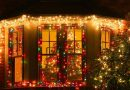 Comercios compiten por decoración navideña
