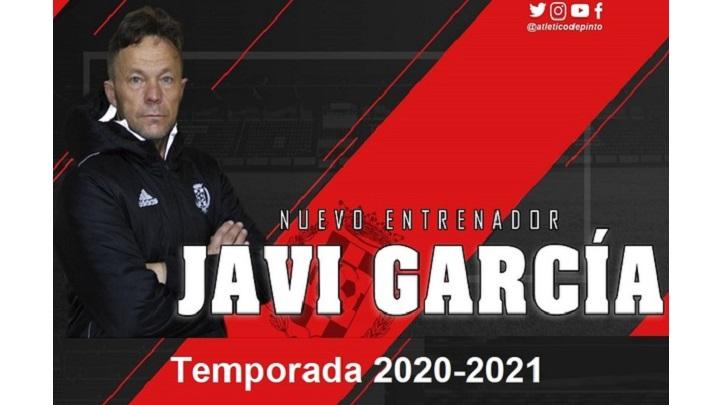 Javi García en el Atlético de Pinto