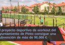 Proyecto deportivo de workout del Ayuntamiento