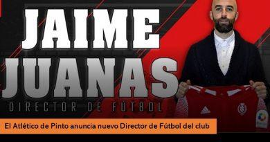 Nuevo director del Atlético de Pinto