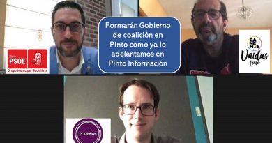 Formarán Gobierno de coalición en Pinto