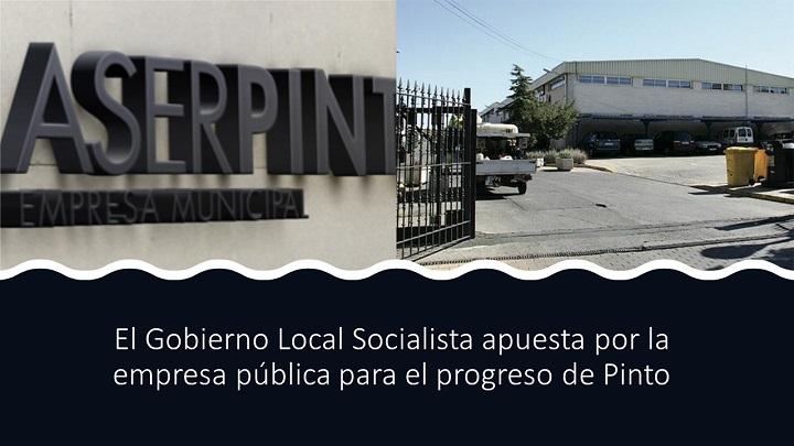 Apuestan por la empresa pública en Pinto