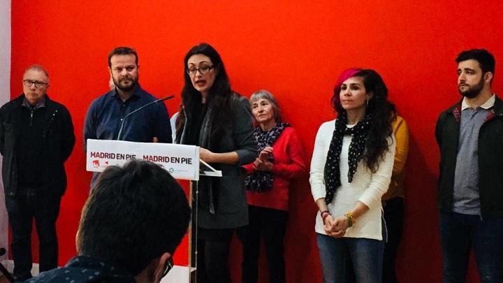 Acuerdo de IU Madrid con Podemos