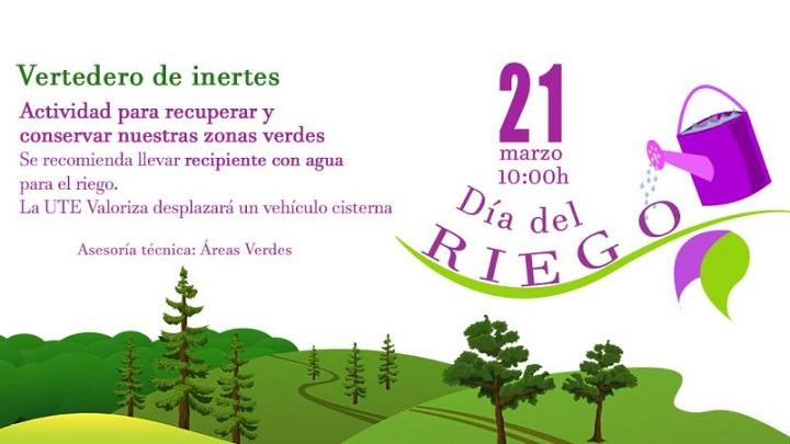 """Pinto organiza """"El Día del Riego"""""""