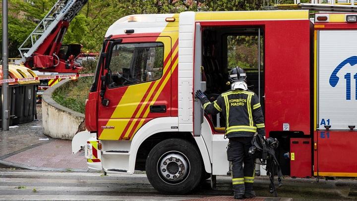 Fallecido un hombre en incendio de vivienda