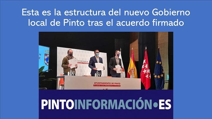 Estructura del nuevo Gobierno de Pinto