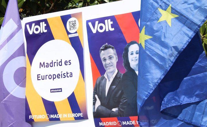 """""""Volt"""" por una campaña electoral justa"""