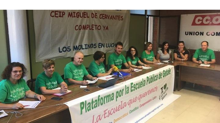 Caos de la escolarización del Sur de Madrid
