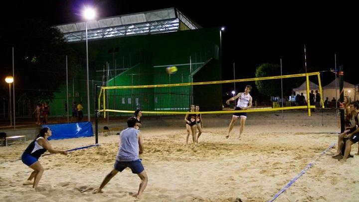 Reapertura de pistas de Vóley playa