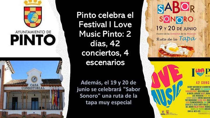 Festival I Love Music Pinto