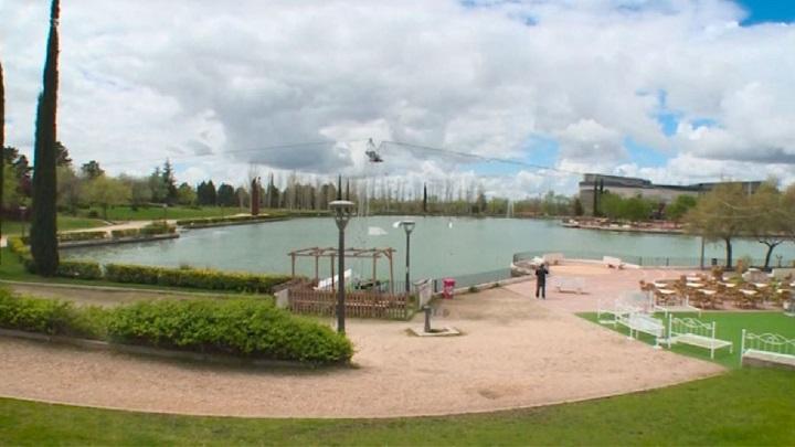 Pinto gestionará el lago del Parque Municipal