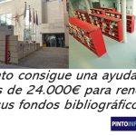 Ayuda para renovar fondos bibliográficos