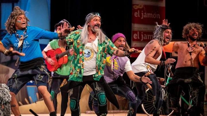La chirigota magia del carnaval en Pinto