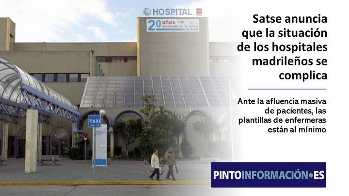 La situación de los hospitales madrileños se complica
