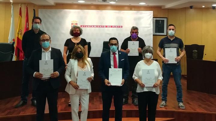 Firmado el pacto local de Pinto