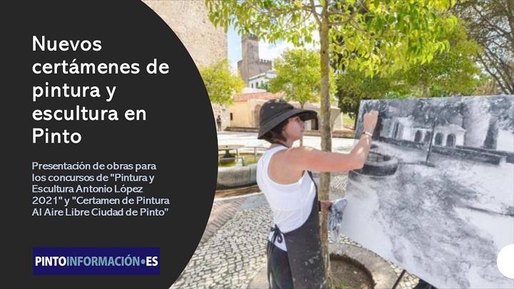 Certámenes de pintura y escultura en Pinto