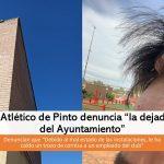 El Atlético denuncia «dejadez del Ayuntamiento»