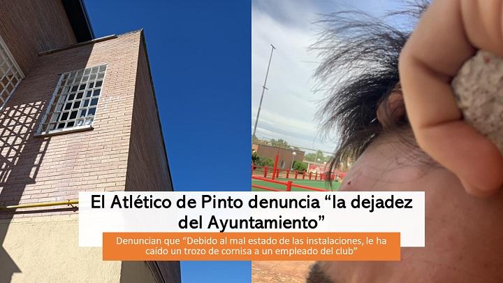 """El Atlético denuncia """"dejadez del Ayuntamiento"""""""