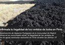 Confirmada la ilegalidad de los vertidos de lodos