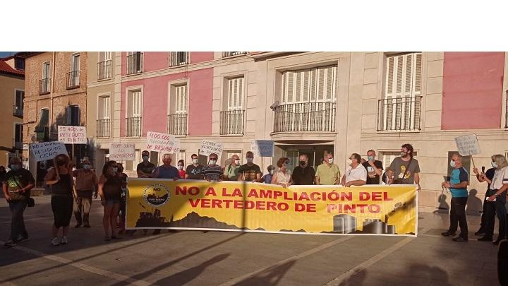 Oposición a la Macroplanta de residuos de Pinto
