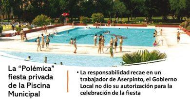 """Polémica"" fiesta de la Piscina Municipal"